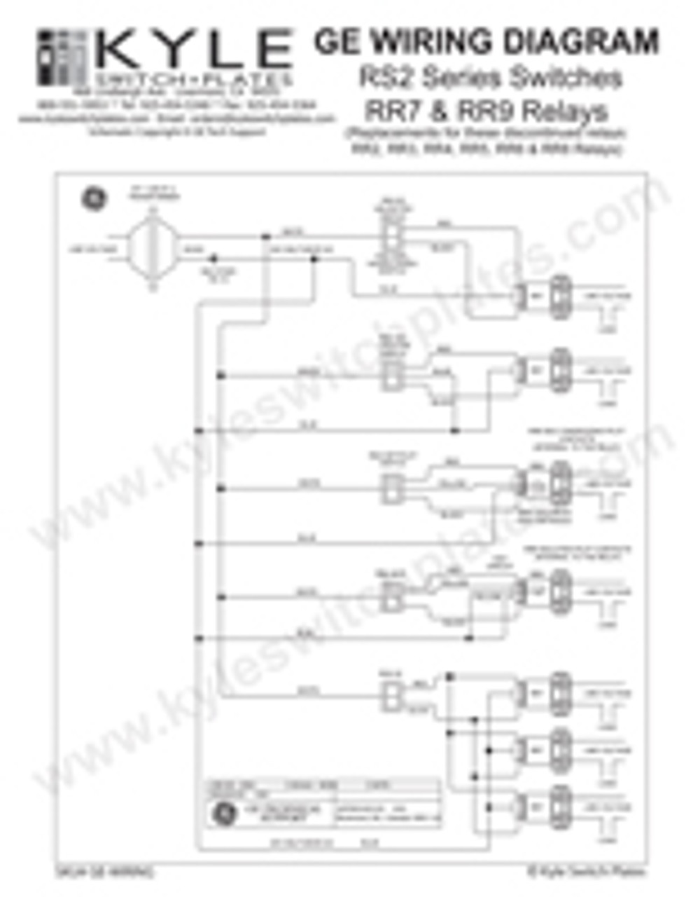 Low Voltage Relay Switch : voltage, relay, switch, Voltage, Switch, Relay, Wiring, Instruction, Guide