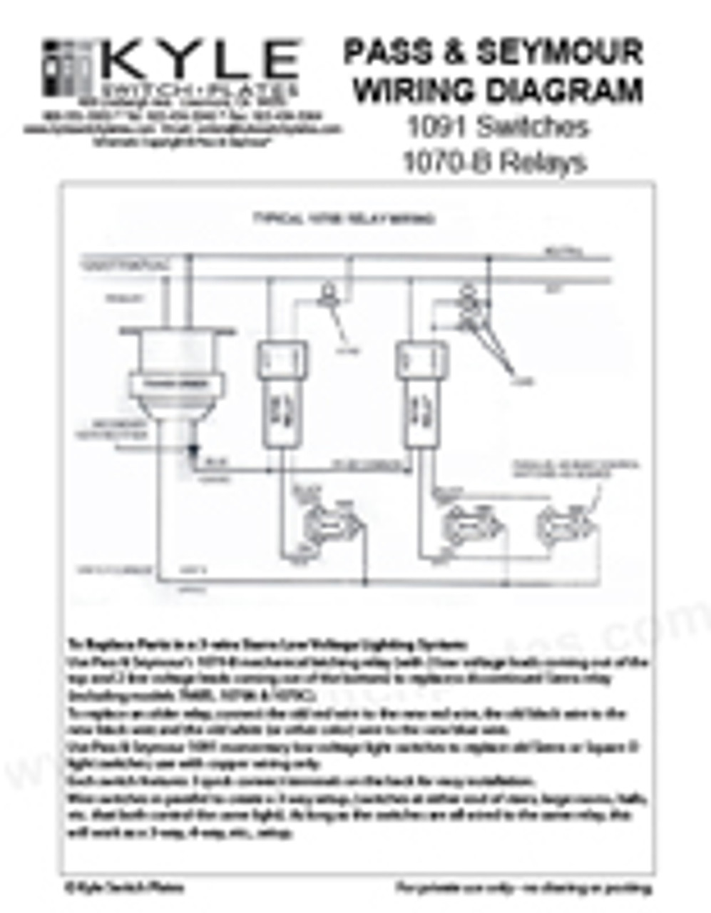 Low Voltage Relay Switch : voltage, relay, switch, Sierra, Voltage, Switch, Relay, Wiring, Guide, Download