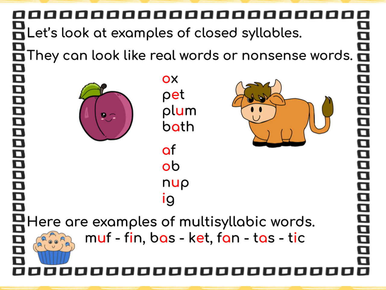 Syllable Types: Open \u0026 Closed Syllables Distance Learning Activities  (Remote Ready Resource) - Amped Up Learning [ 960 x 1280 Pixel ]