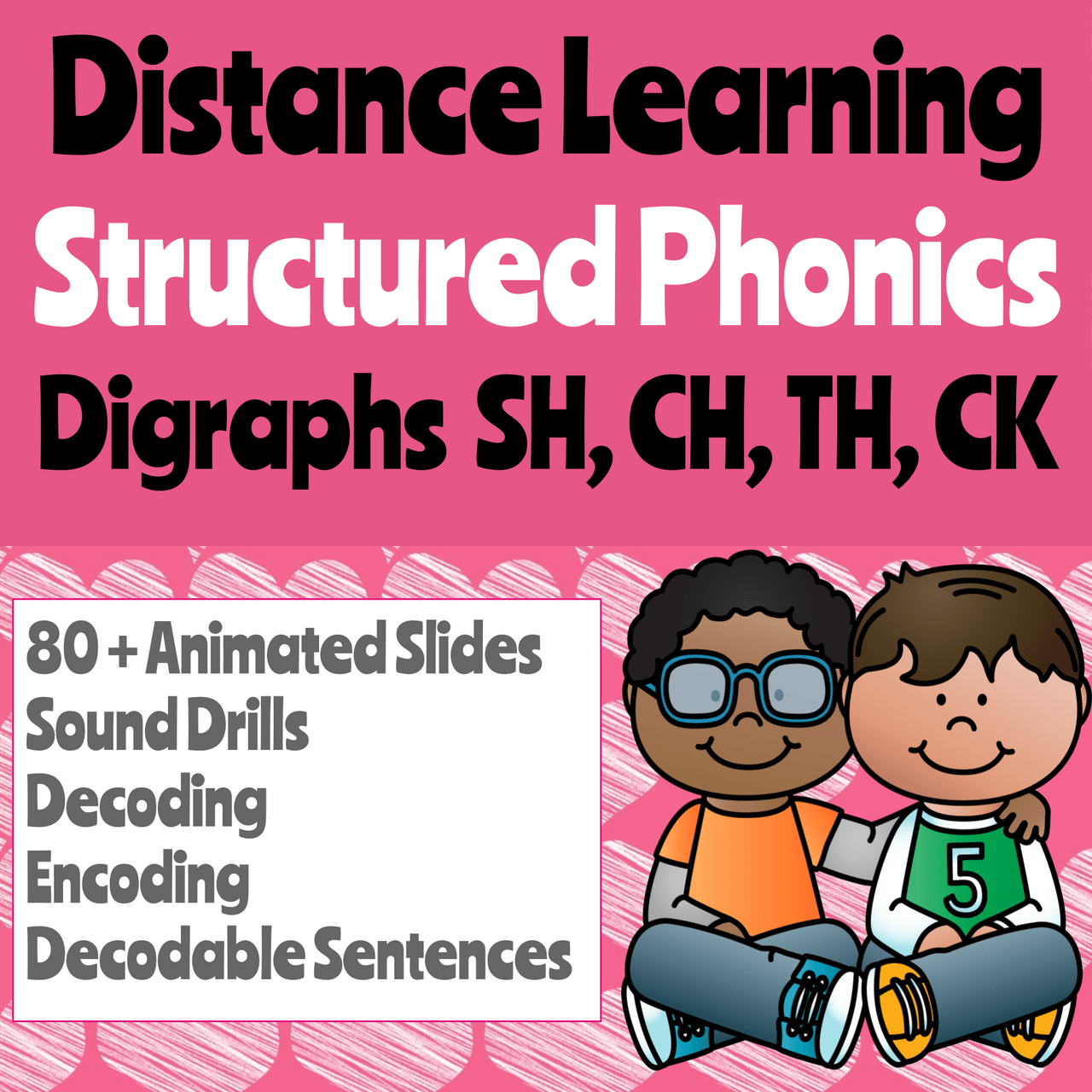 Distance Learning Phonics Digraphs SH [ 1280 x 1280 Pixel ]