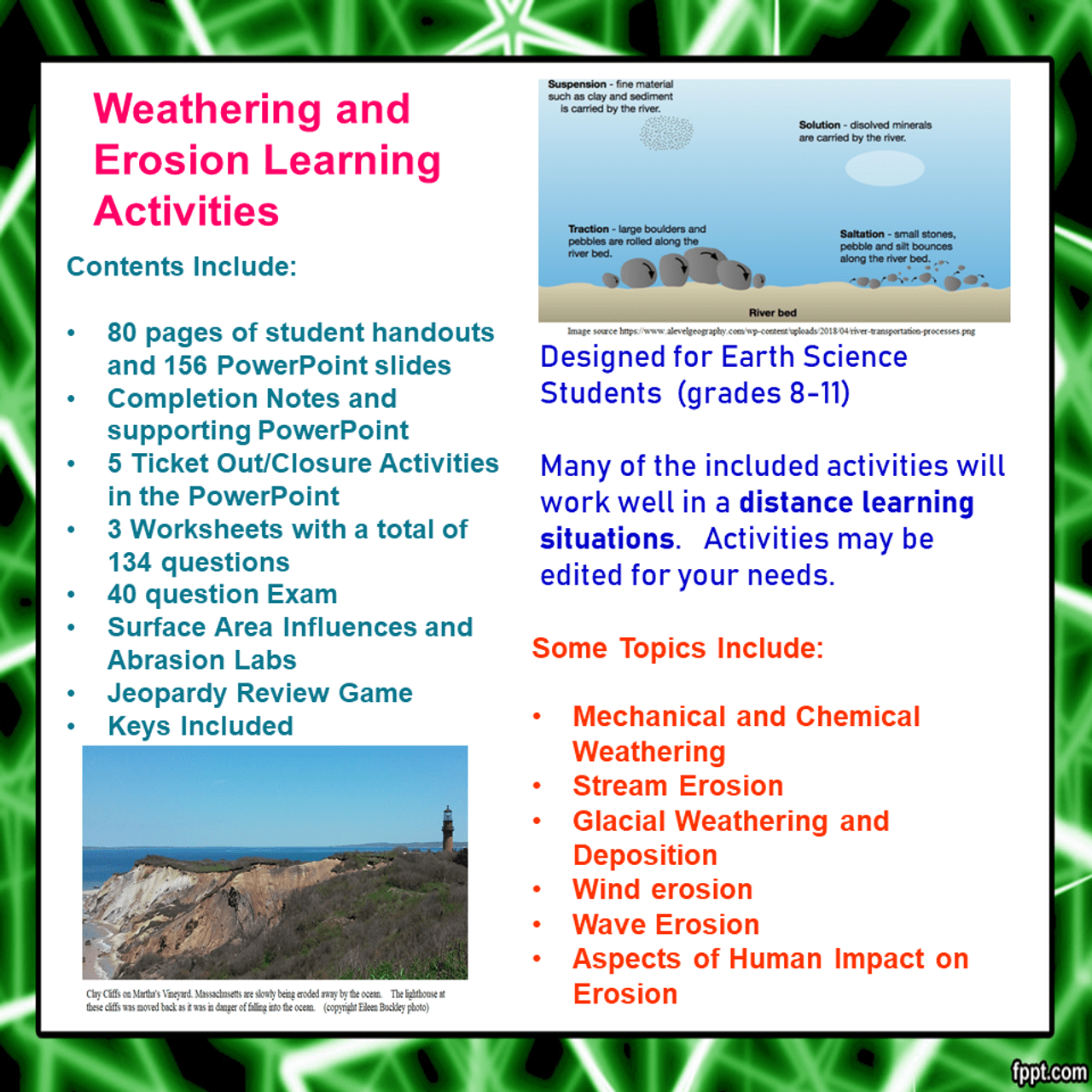 Weathering and Erosion Learning Activities [ 1280 x 1280 Pixel ]