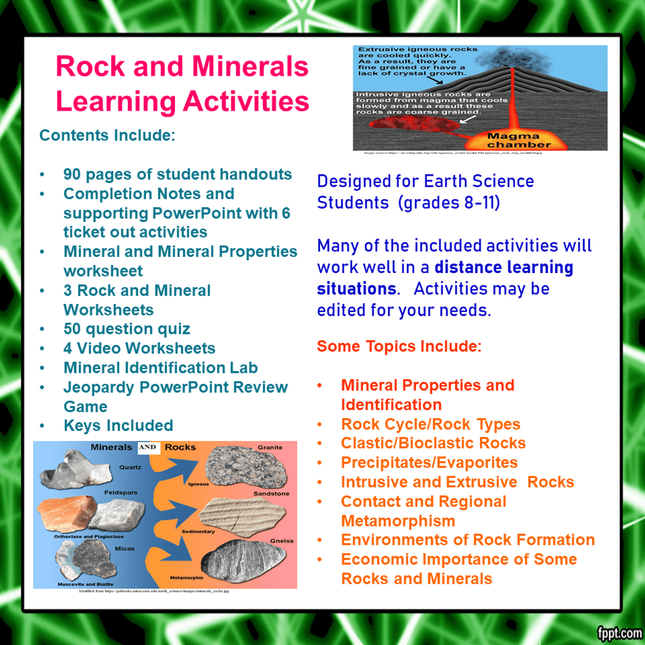 medium resolution of Rocks and Minerals Learning Activities