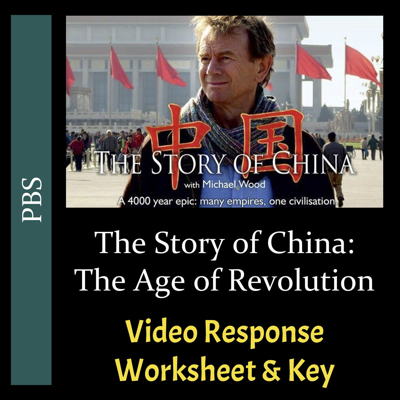 The Story of China - Episode 6: The Age of Revolution - Video Response  Worksheet \u0026 Key (Editable) - Amped Up Learning [ 1280 x 1280 Pixel ]