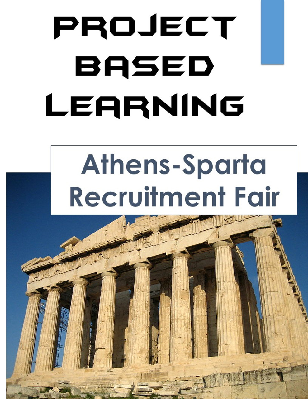 Project Based Learning: Ancient Greece Athens-Sparta PBL - Amped Up Learning [ 1280 x 989 Pixel ]