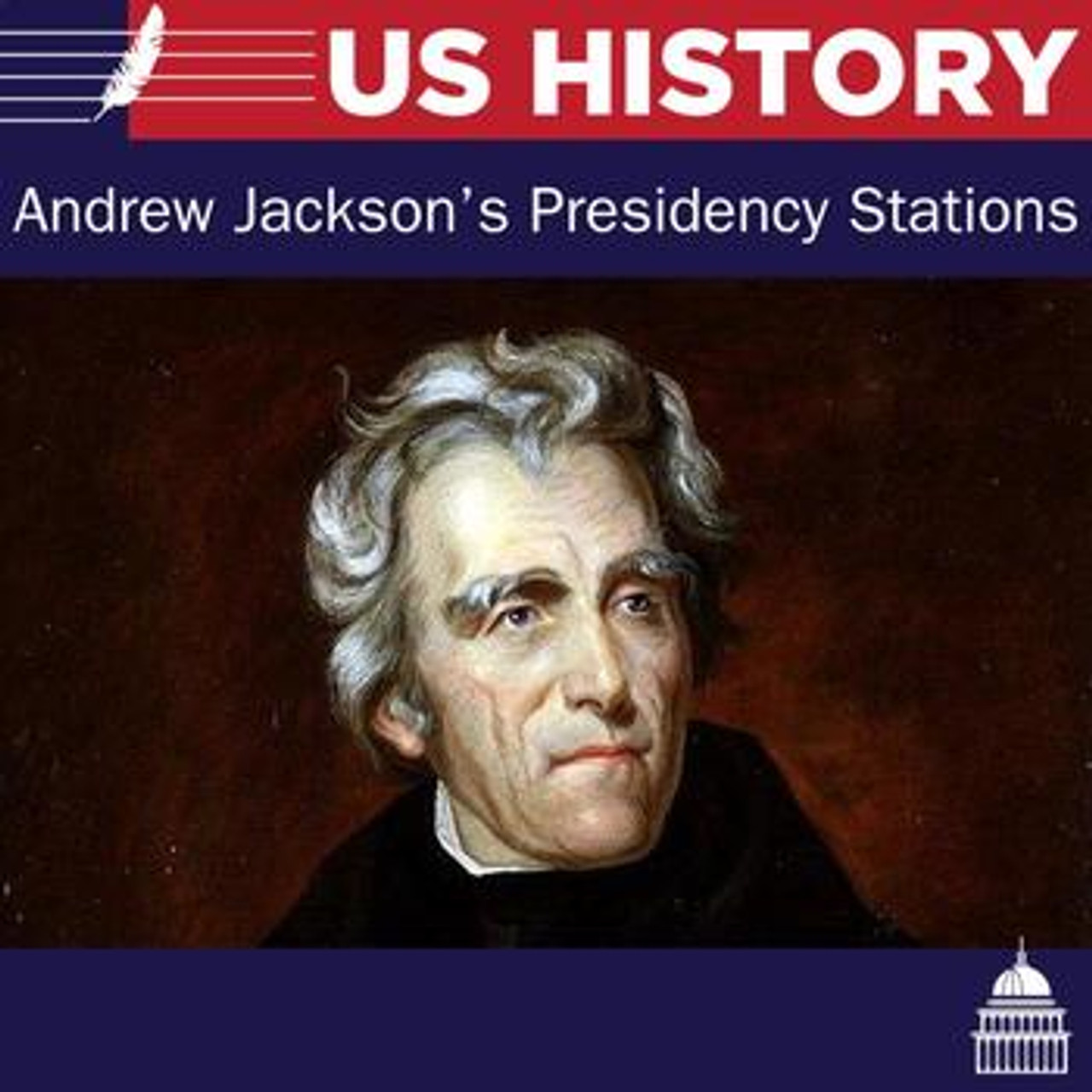 Andrew Jackson Presidency - 6 Stations Lesson - Amped Up Learning [ 1280 x 1280 Pixel ]