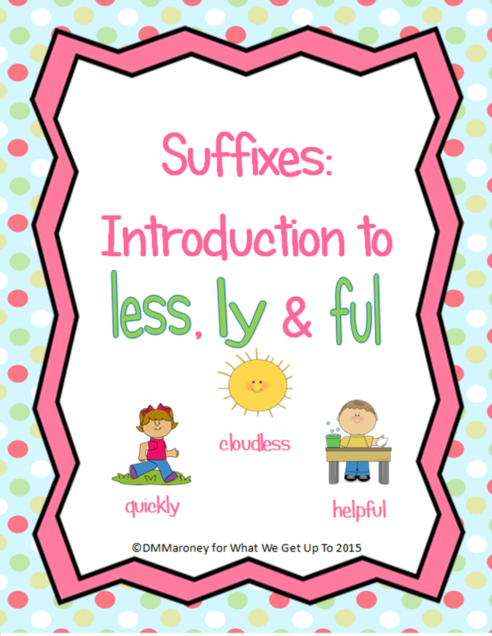 small resolution of Suffixes: Introduction to less
