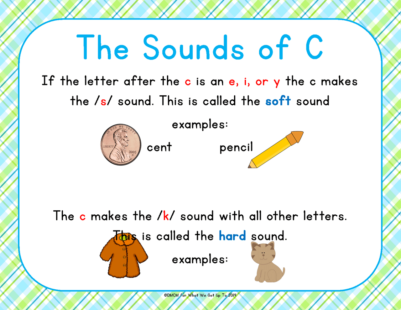 medium resolution of Hard and Soft c and g Sounds - Amped Up Learning