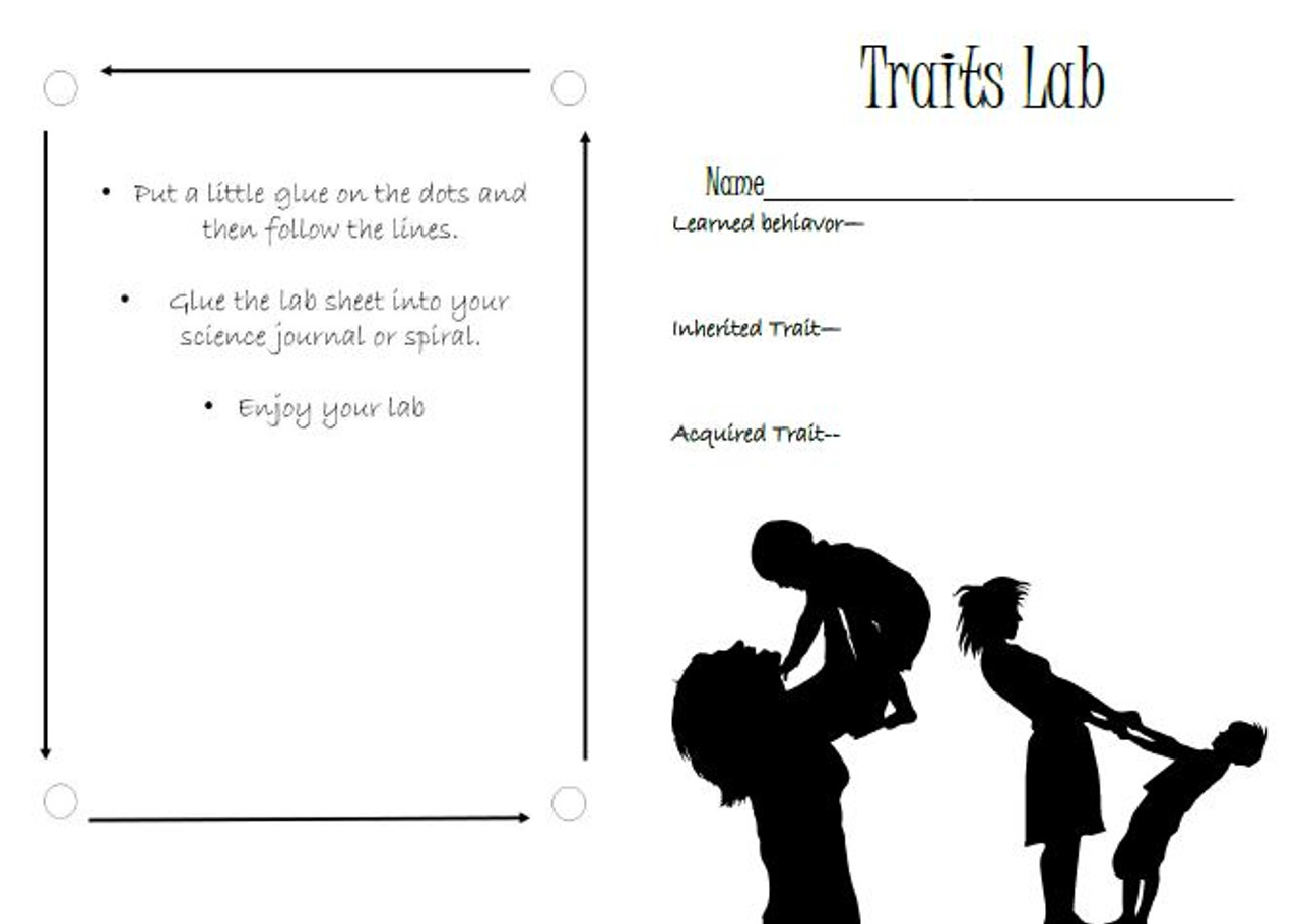 small resolution of Inherited Traits Science Lab - Amped Up Learning