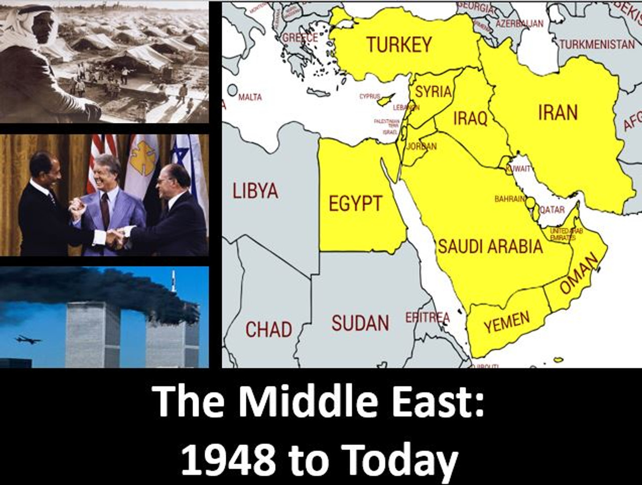 small resolution of The Middle East \u0026 the World: 1948 to Today: Power Point