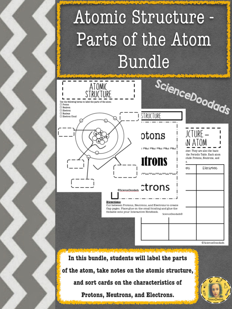 medium resolution of Atomic Structure - Parts of the Atom - Bundle - Amped Up Learning