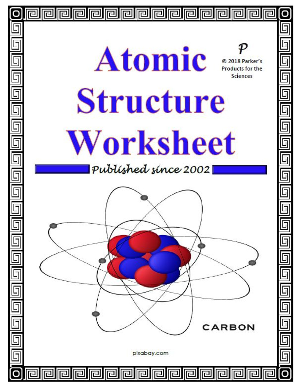small resolution of Atomic Structure Worksheet - Amped Up Learning