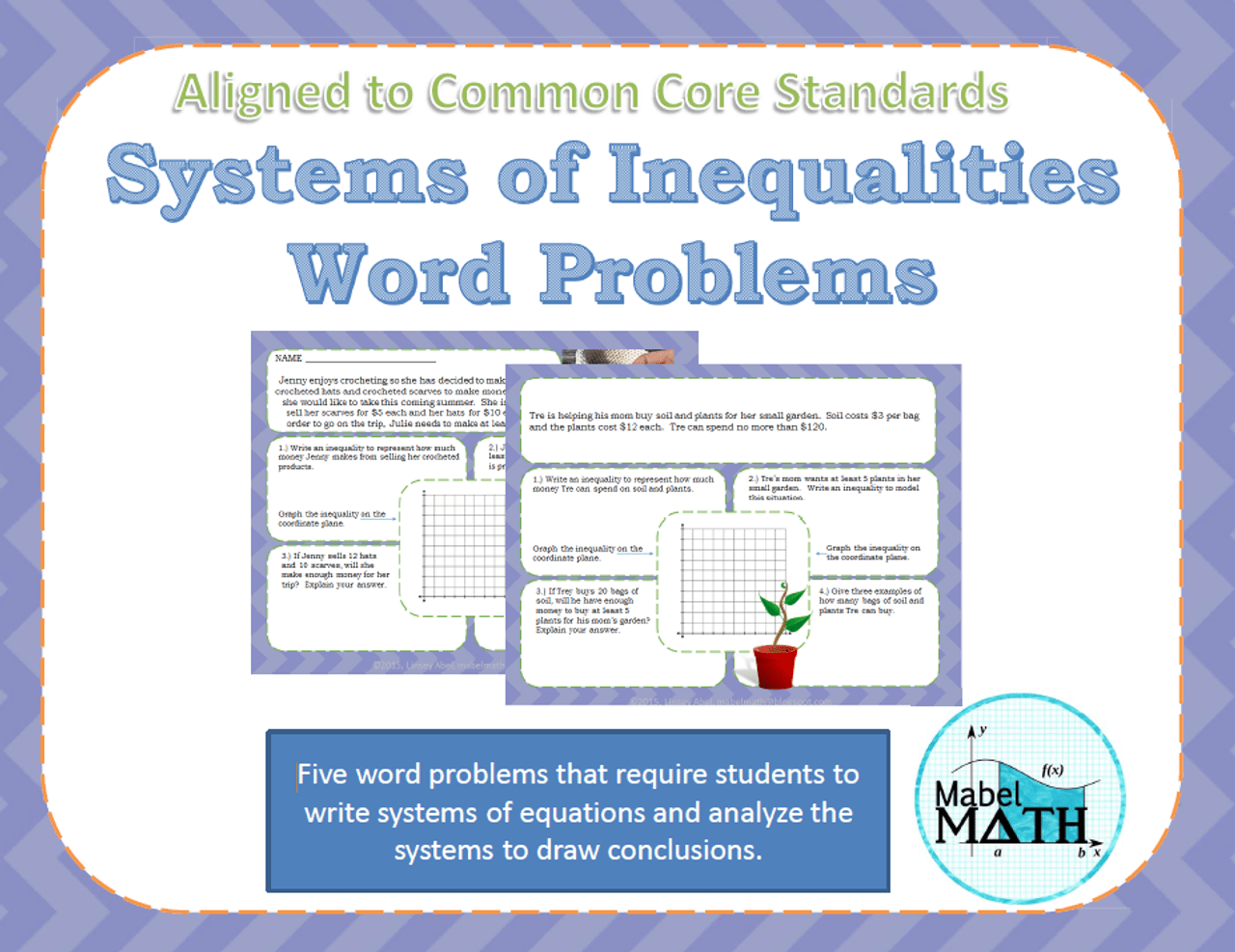 hight resolution of Systems of Inequalities Word Problems - Amped Up Learning