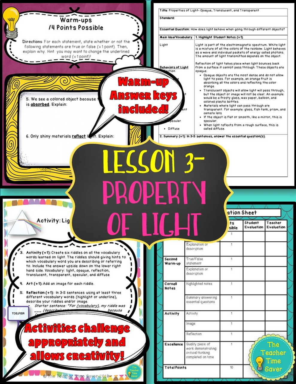 hight resolution of Waves Light and Sound Interactive Notebook   Physical Science - Amped Up  Learning