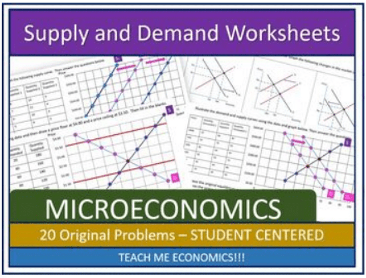 hight resolution of Supply and Demand Worksheets 20 Problem Sets Economics Graphing and  Powerpoint - Amped Up Learning