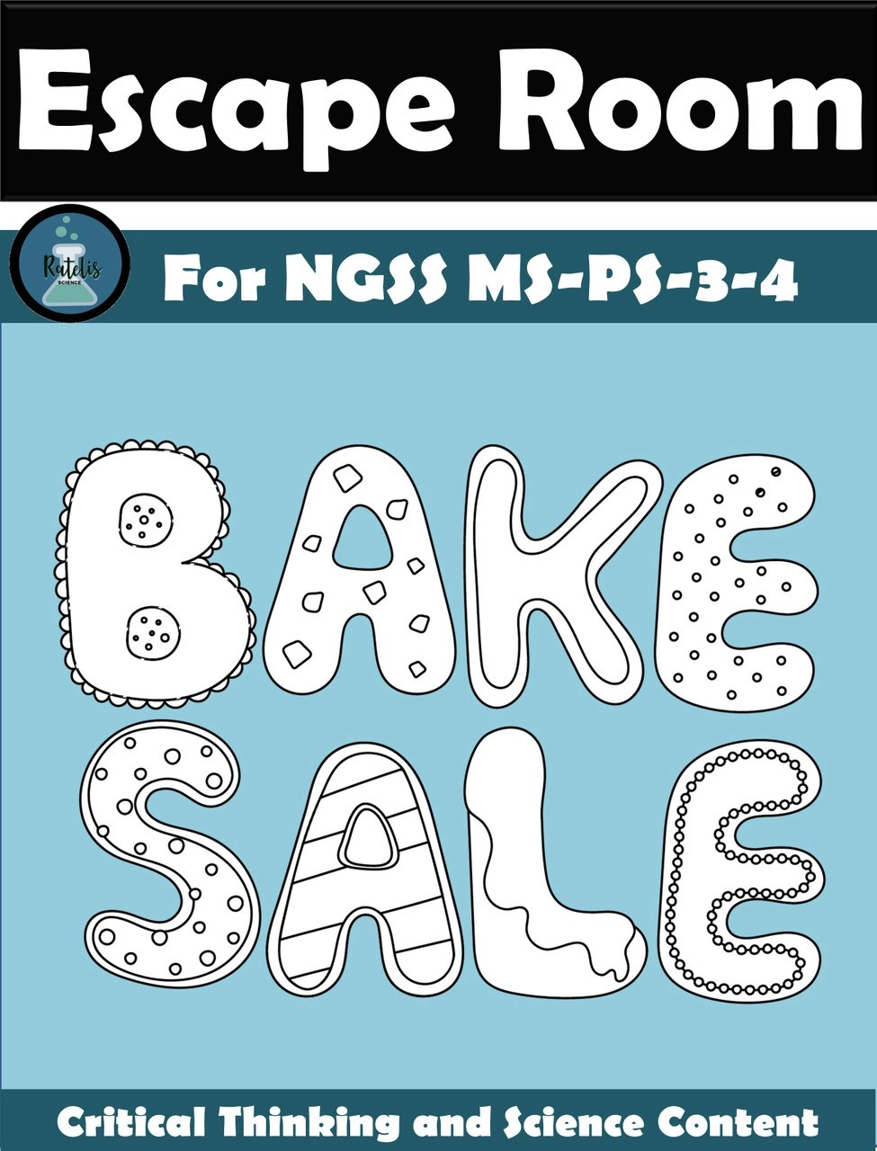 hight resolution of Escape Room: Thermal Energy NGSS MS PS-3-4 \Bake Sale\