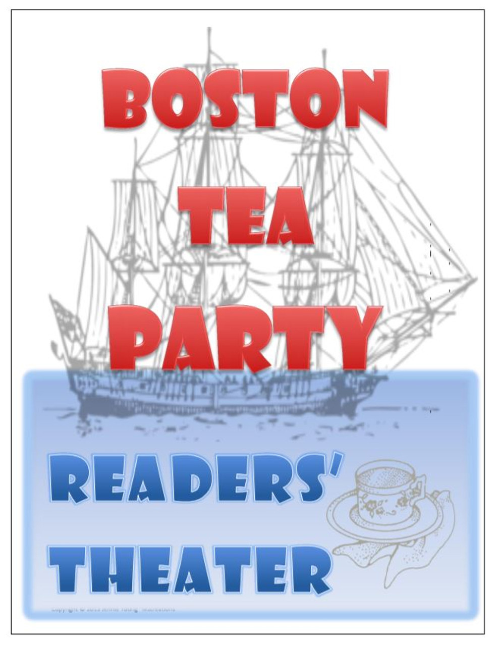 hight resolution of Boston Tea Party Readers' Theater - Amped Up Learning