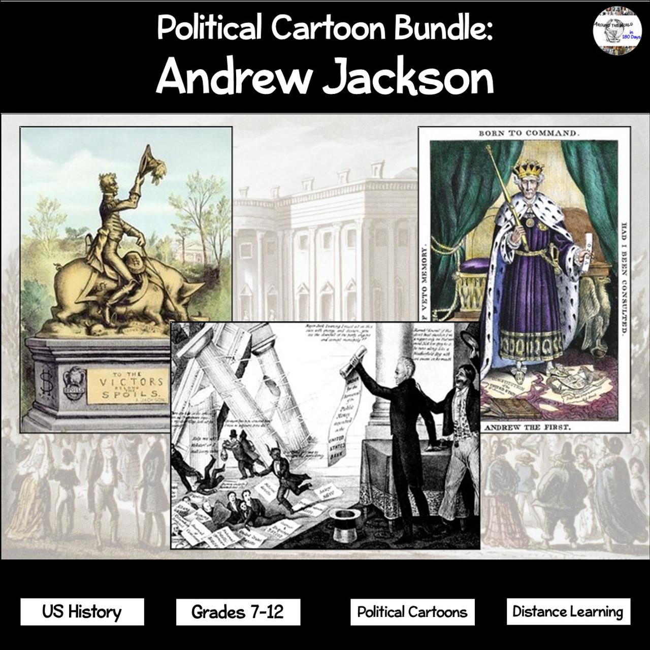 medium resolution of Political Cartoon Bundle: Andrew Jackson - Amped Up Learning