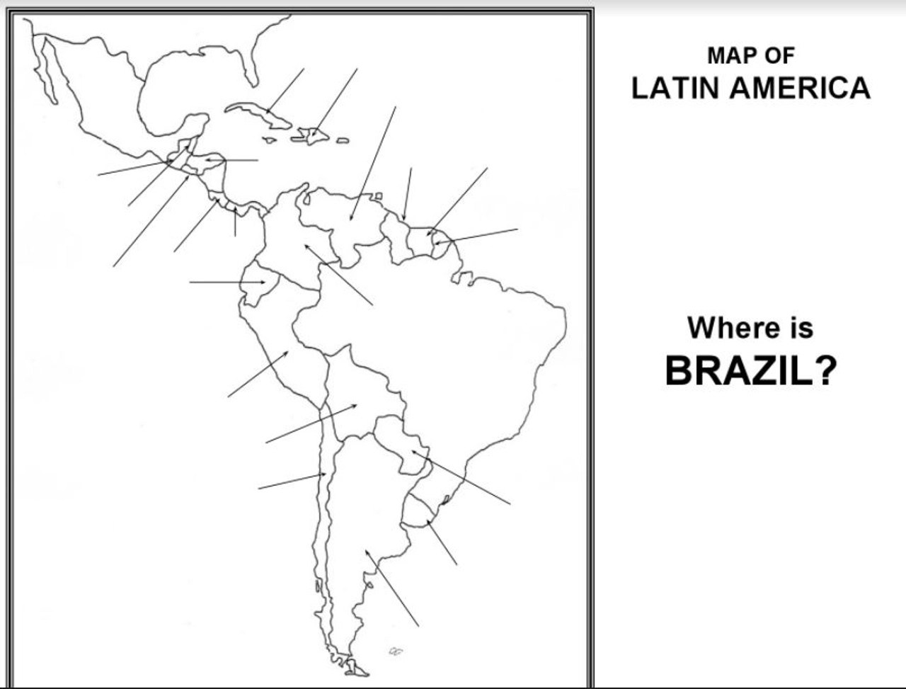 hight resolution of Latin America Map Activity - Amped Up Learning