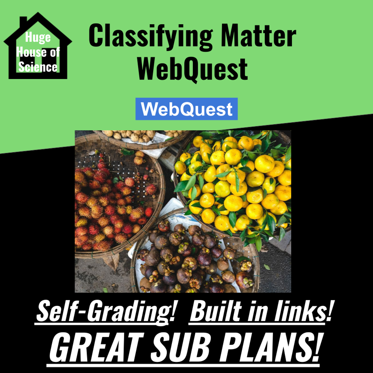 hight resolution of Classifying Matter Web Quest (MS-PS1) (GREAT SUB PLANS or DISTANCE  LEARNING!) - Amped Up Learning