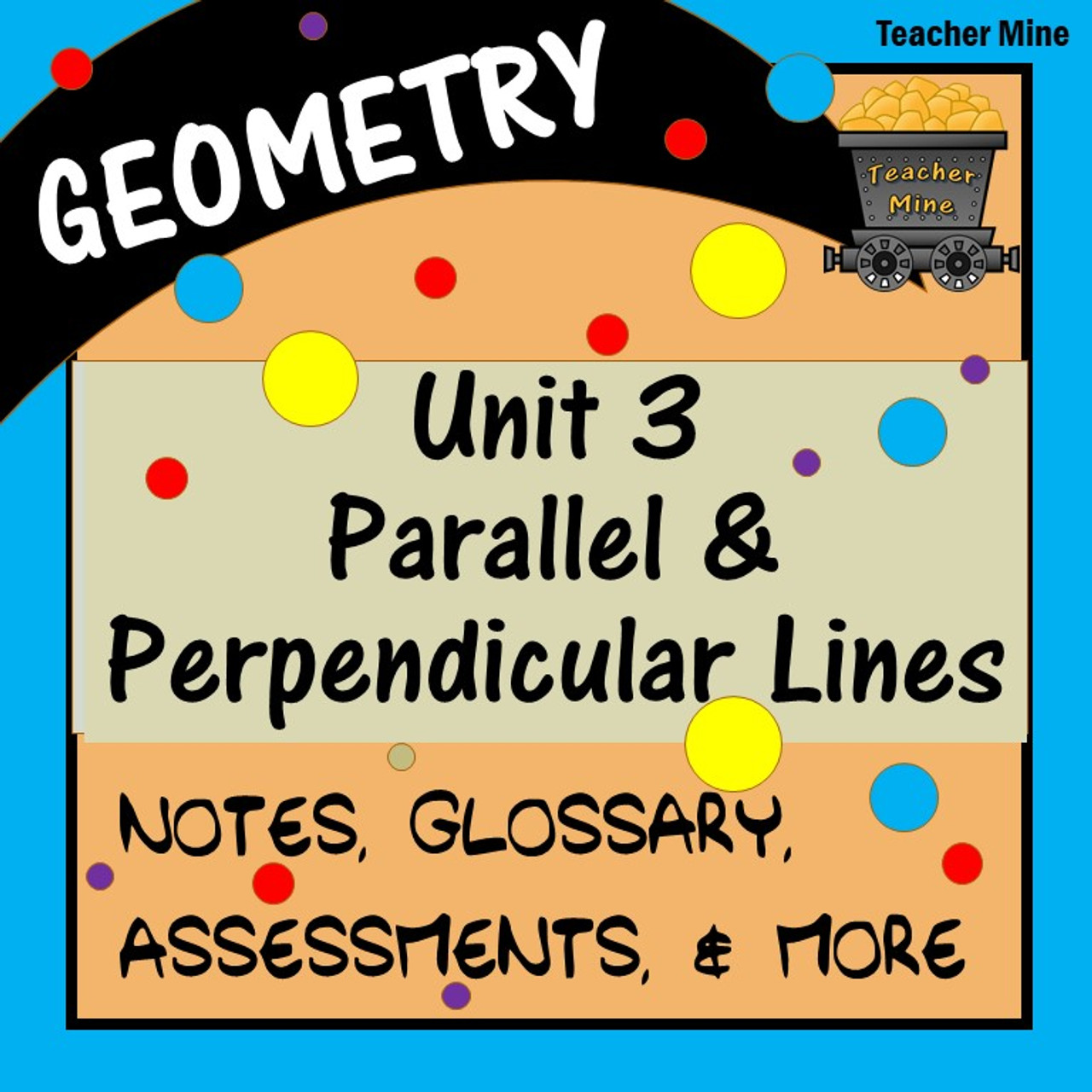 Parallel \u0026 Perpendicular Lines (Geometry - Unit 3) [ 1280 x 1280 Pixel ]