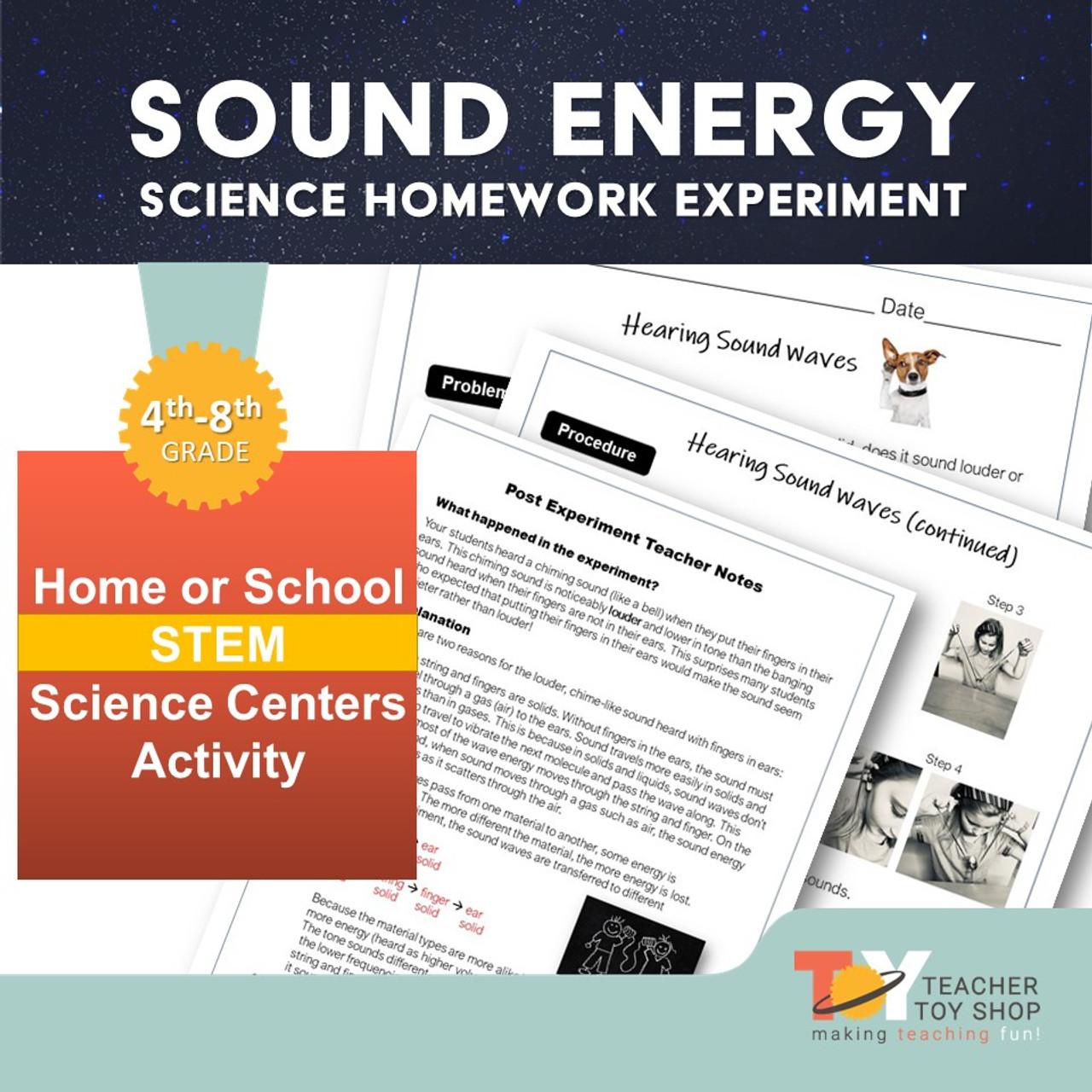 medium resolution of Sound Waves Experiment