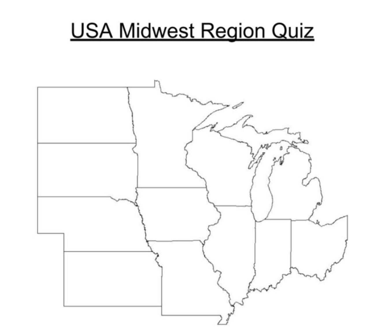medium resolution of USA Midwest Region Quiz - Amped Up Learning