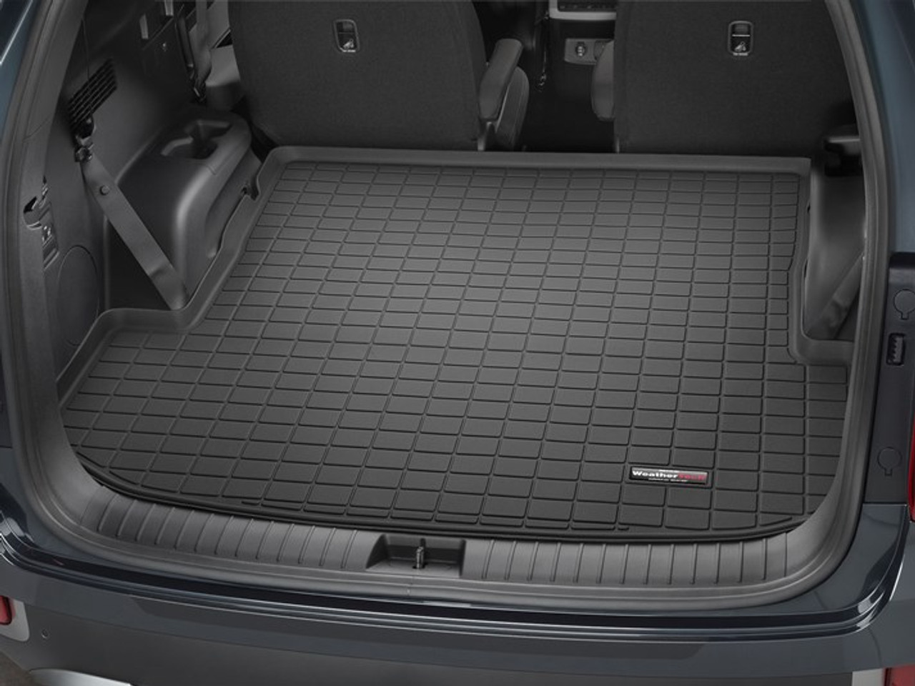 The 2020 hyundai palisade is among the most spacious vehicles in its class, up there with the honda pilot and the chevrolet traverse. 2020 2022 Hyundai Palisade Weathertech Cargo Liner Free Shipping Hyundai Shop
