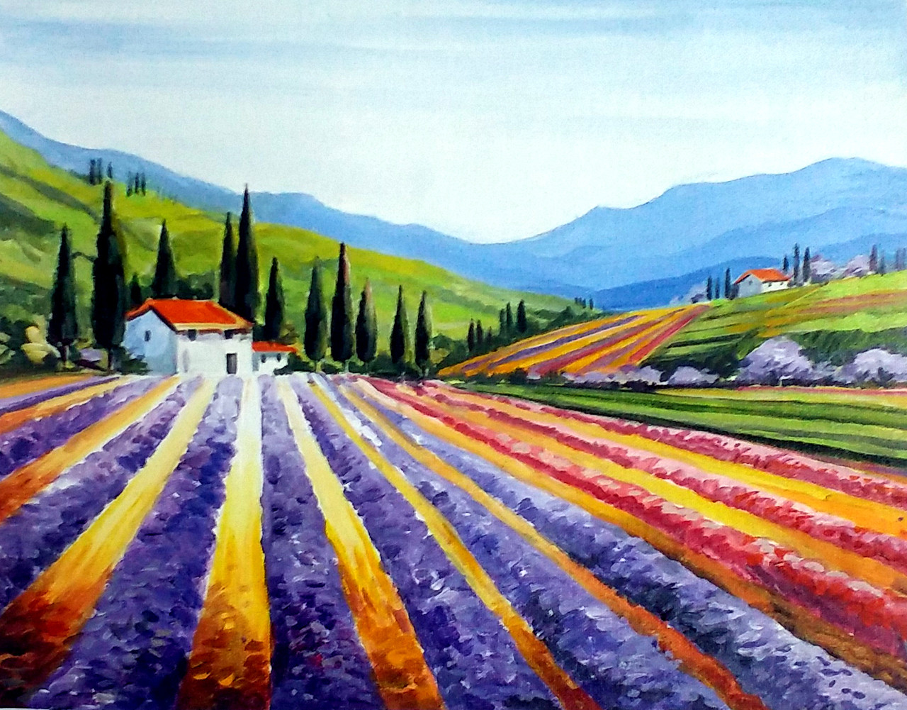 beauty of flowers valley handmade