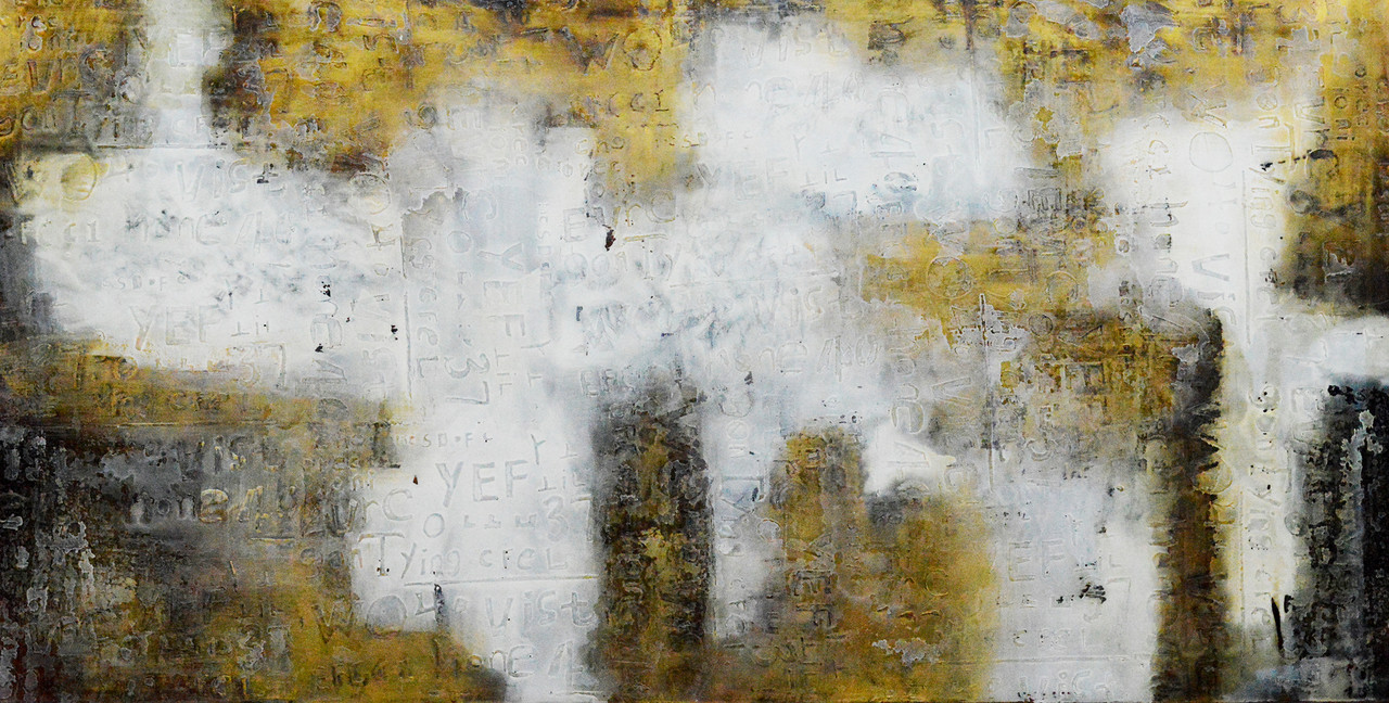 yellow black abstract fr