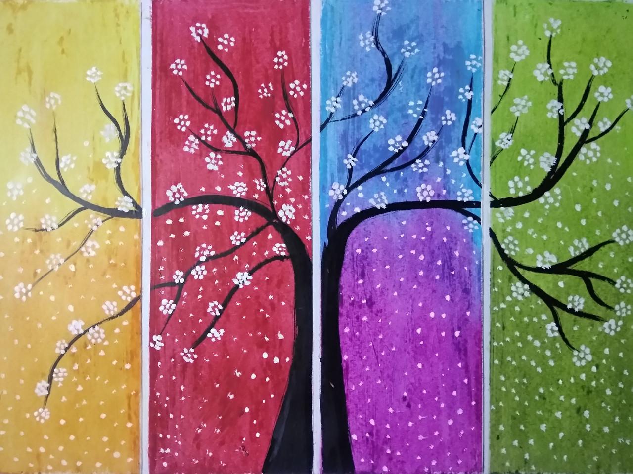 black tree art 5620