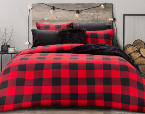 danner flannel duvet cover set