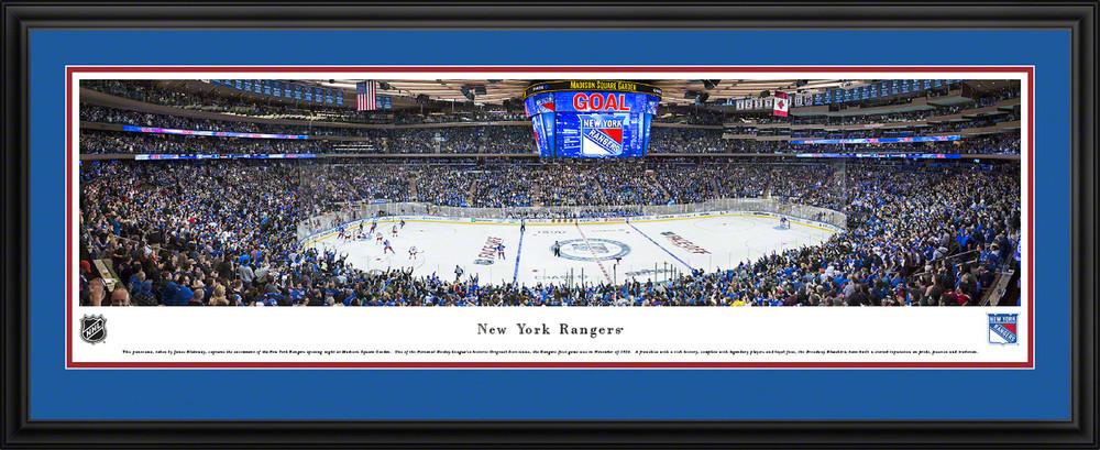 new york rangers panoramic poster