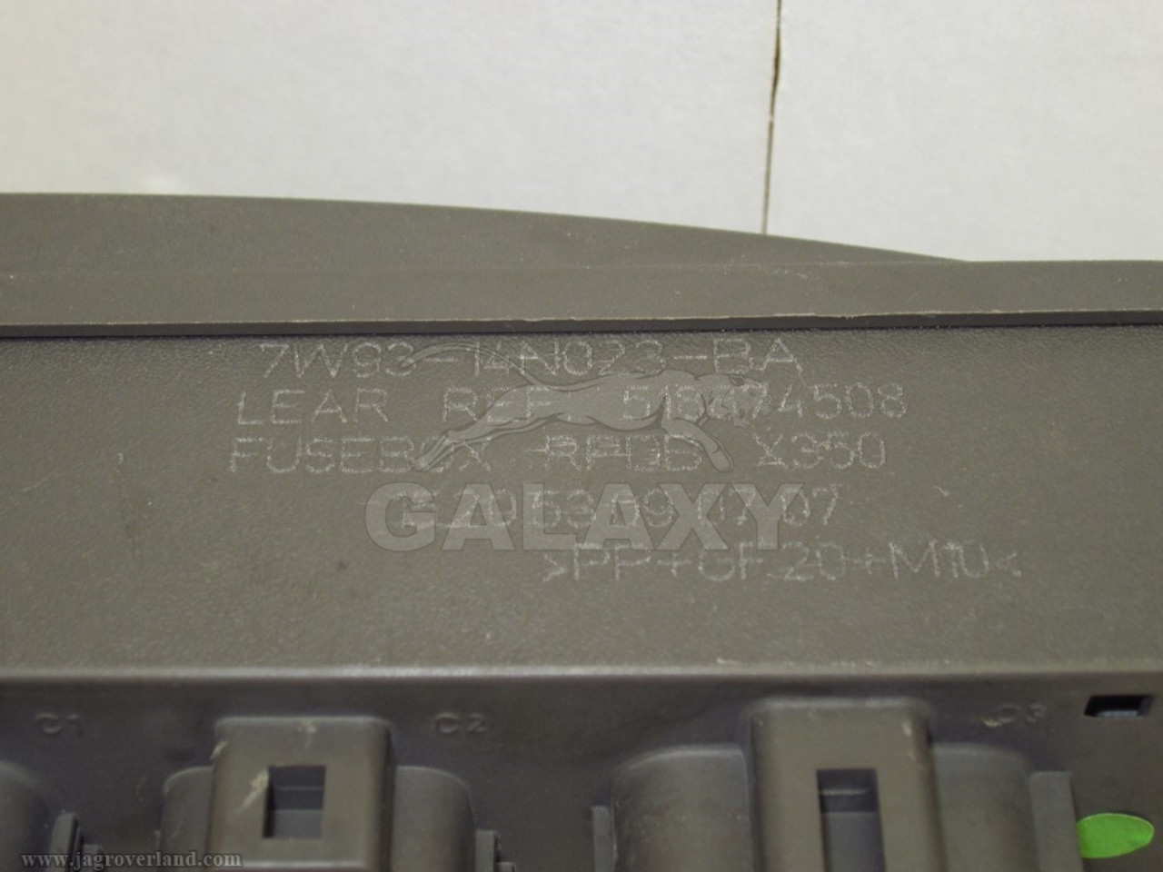 medium resolution of 08 09 xj8 xjr rear trunk mounted fuse and relay box oem c2c34455 7w93