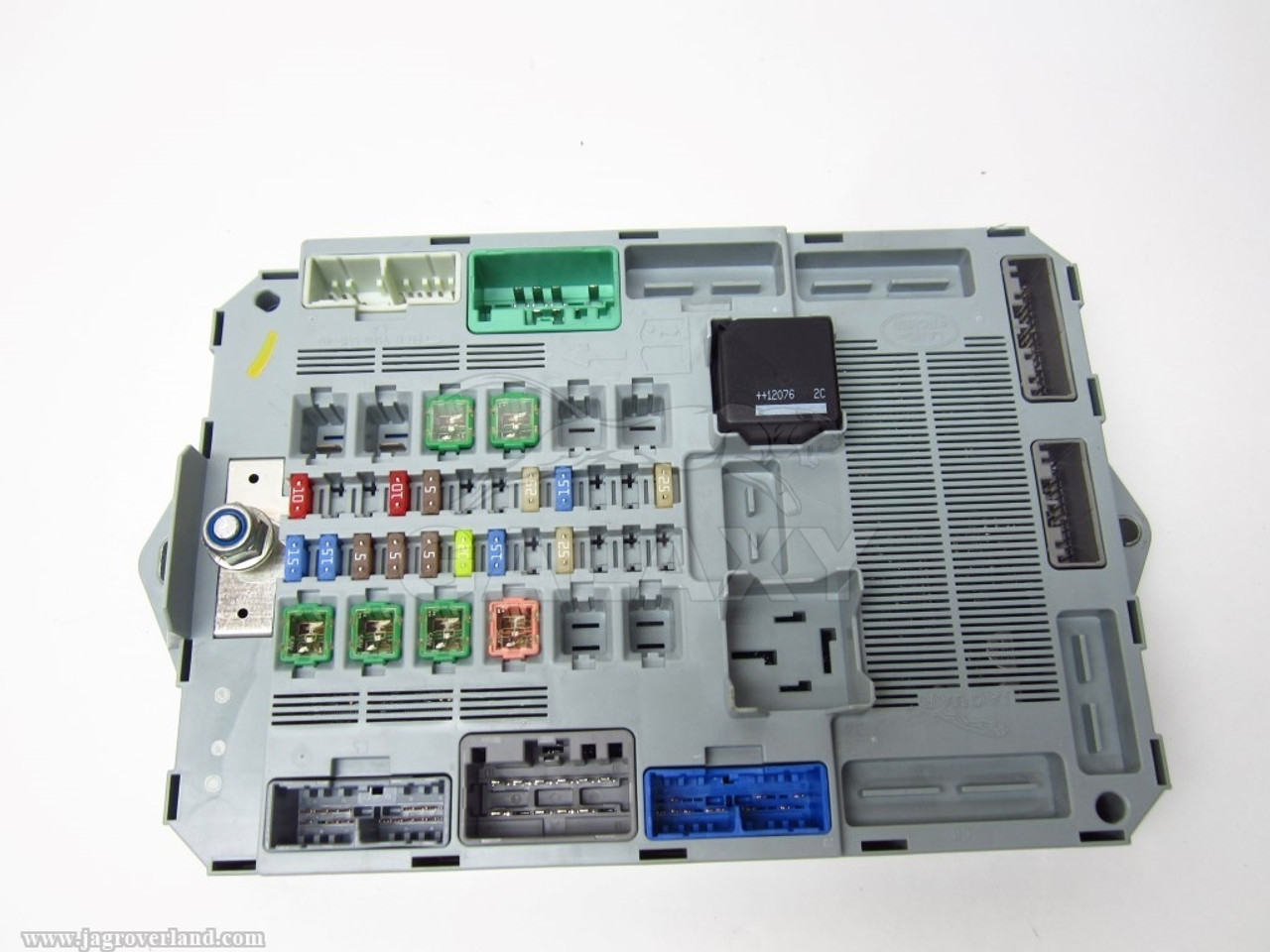 12 xf xfr trunk fuse box smart junction oem c2z23345 cx23 14d628 ag cx23z14d645ae [ 1280 x 960 Pixel ]