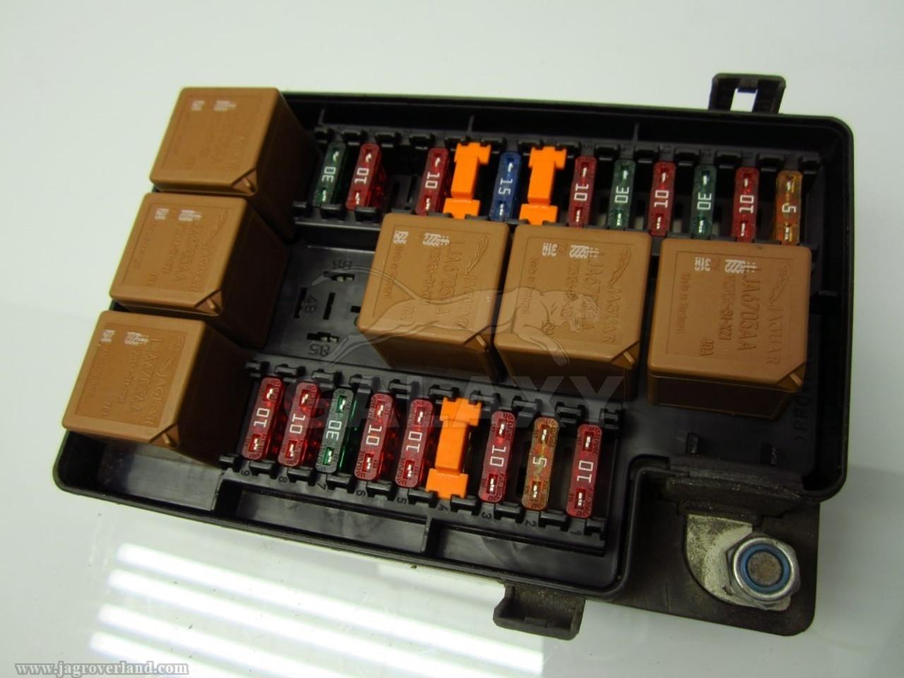 jaguar fuse box [ 1024 x 768 Pixel ]