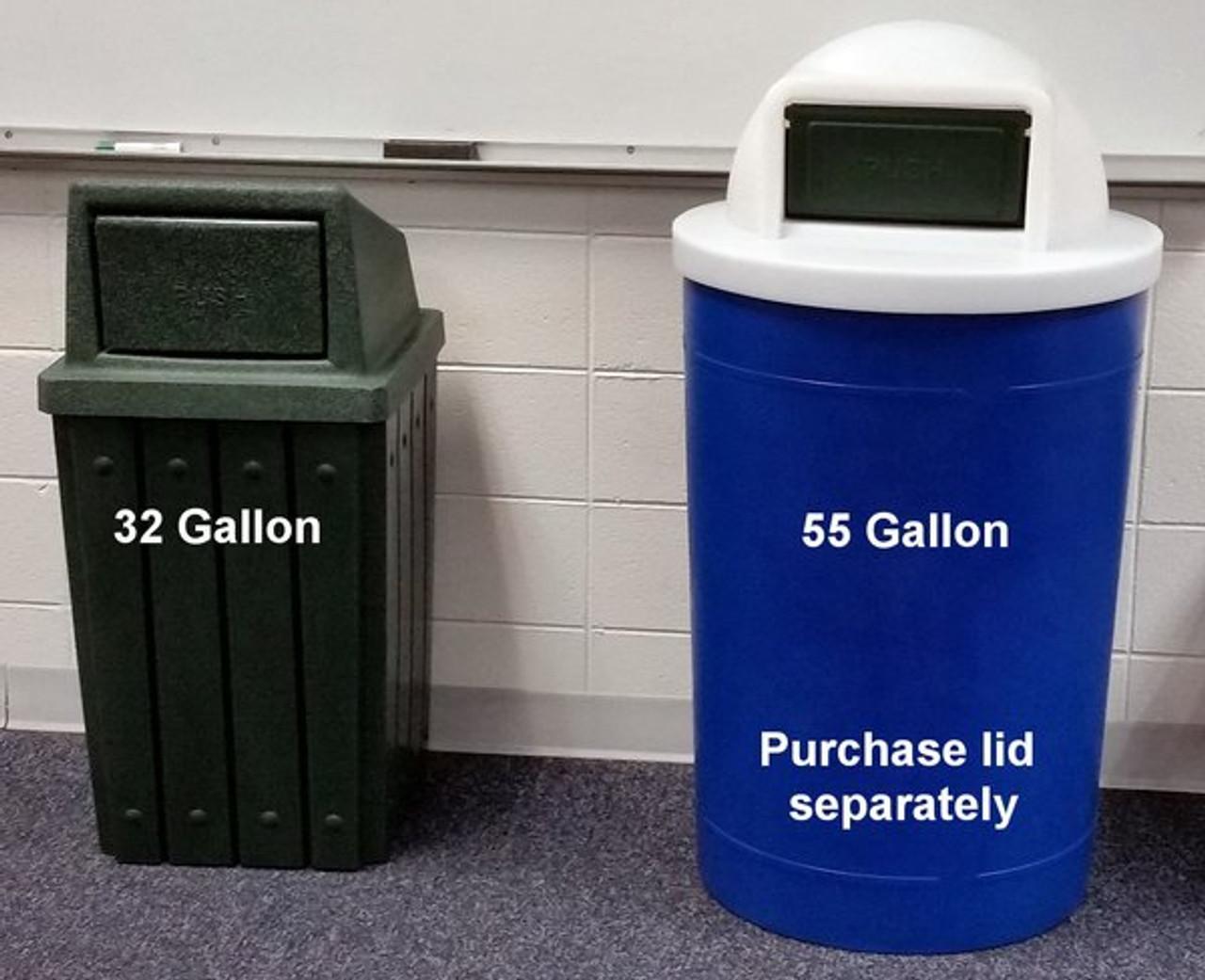 55 gallon kolor can
