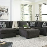 Ashley Ballinasloe Smoke Laf Corner Chaise Armless Loveseat Raf Sofa Sectional Ottoman On Sale At Furniture And Mattress Warehouse Serving Holland Mi