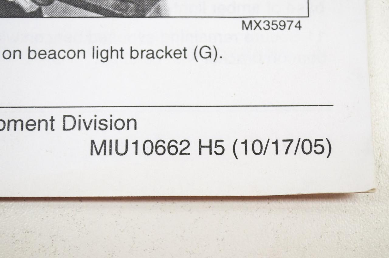 small resolution of john deere installation instructions beacon light kit miu10662h5 nos