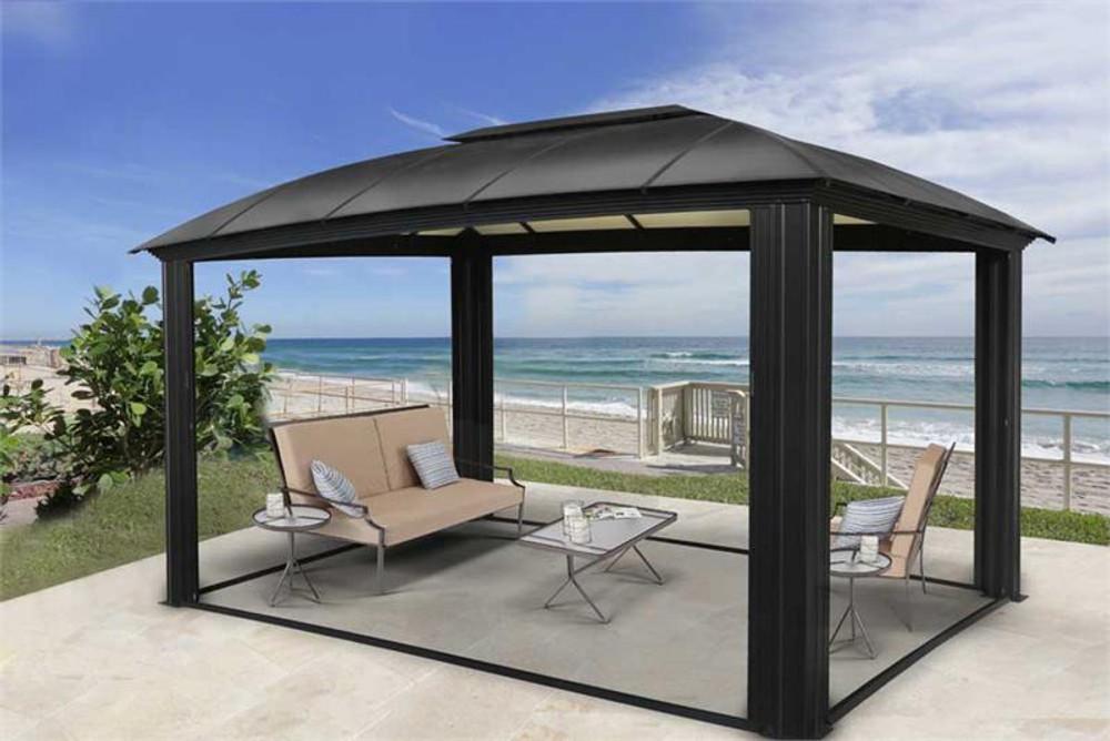 paragon outdoor cambridge 12x16 hard top gazebo