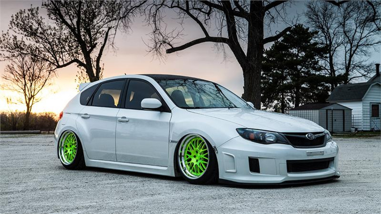 small resolution of 08 14 subaru impreza wrx air lift kit with manual air management side