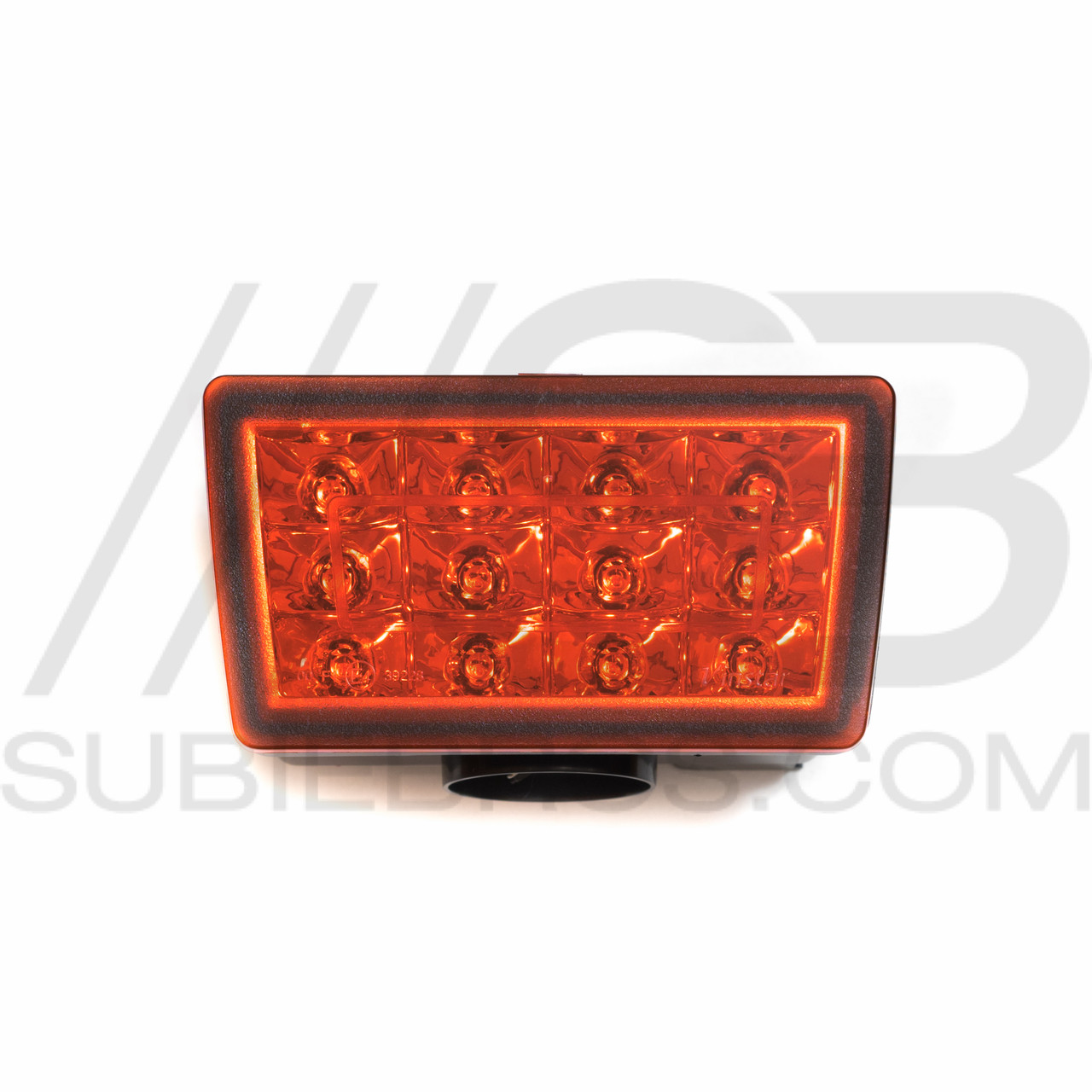 hight resolution of f1 style led rear fog light red clear red smoked matte black subie bros