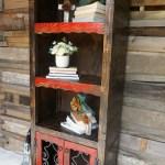 Benito Rustic Bookcase