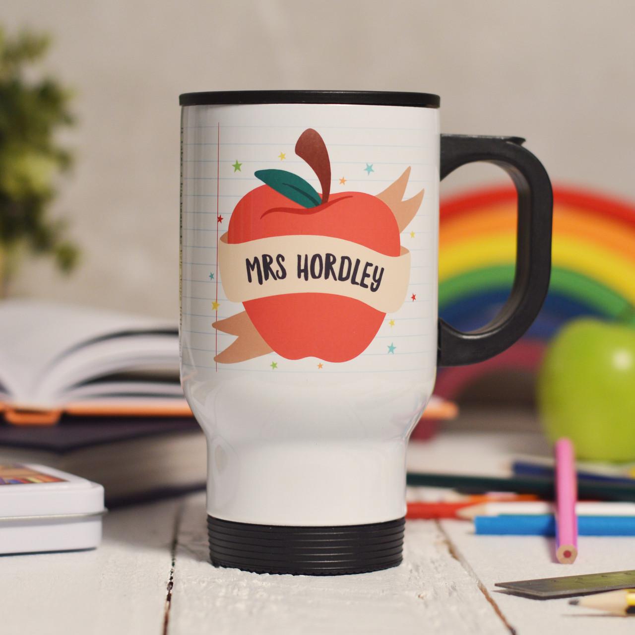 personalised apple teacher travel