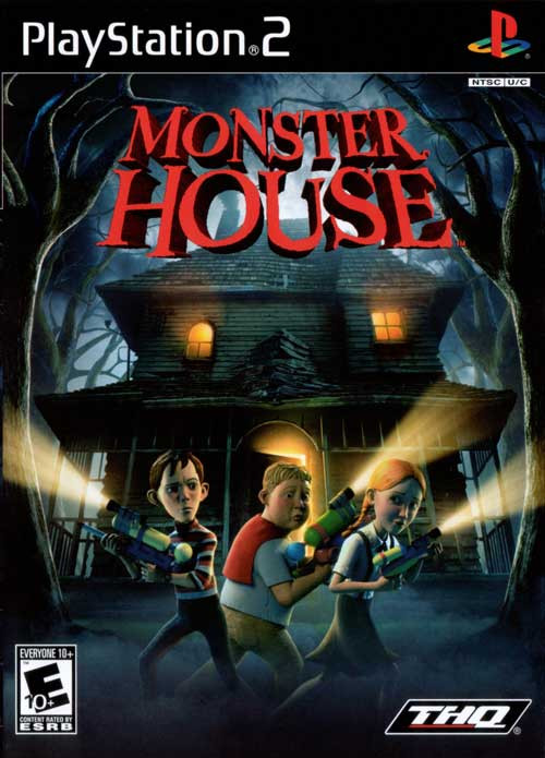 Monster House Playstation 2 Game For Sale DKOldies