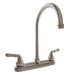 Hc Kitchen Faucet Used Cabinets Shop For J Spout Rv Faucets Durafaucet Com
