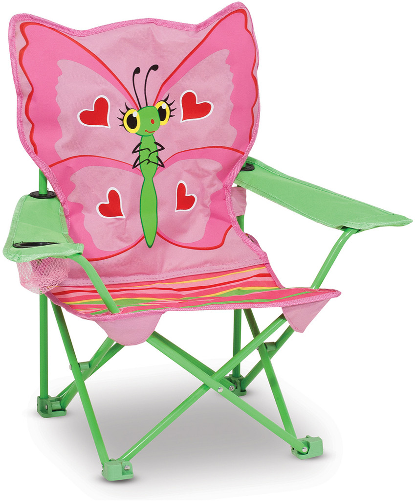 Butterfly Folding Chair Bella Butterfly Child S Folding Chair