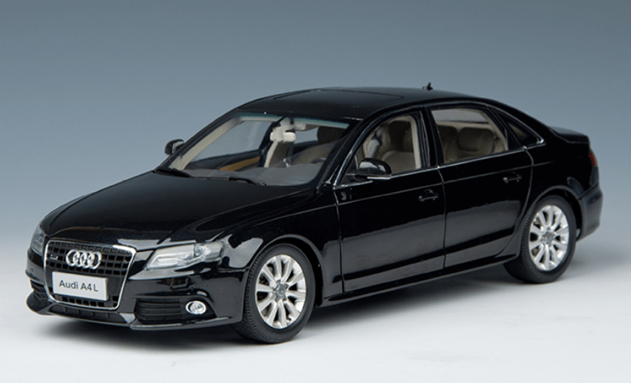 small resolution of 1 18 dealer edition 2010 audi a4 a4l black diecast car model