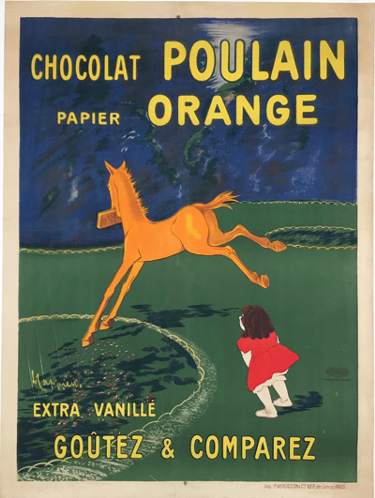 chocolat poulain orange large size