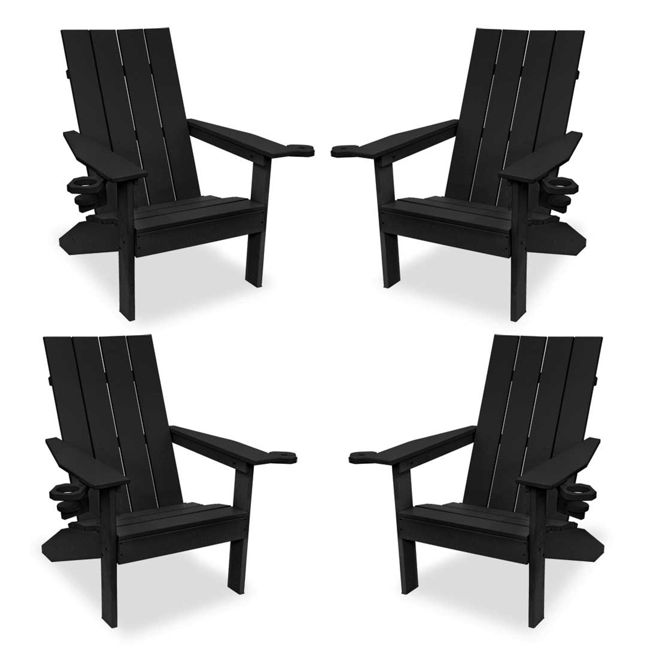 Adirondack Chair Set Creek Side 4 Piece Adirondack Chair Set Available In 12 Colors