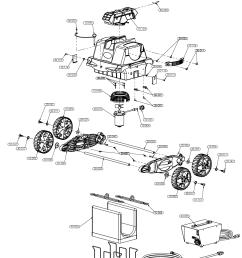 aquabot pool rover sport parts [ 1095 x 1425 Pixel ]